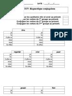 Evaluation Conjugaison Présent