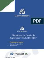 Commbox Controle de Acesso SafeAccess