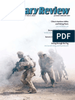 Military Review - JanuaryFebruary 2021