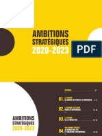 Bpifrance- Amibitions stratégiques 2020-2023