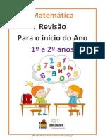Atividade de Revisão Matemática 1º e 2º Anos