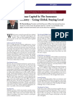 human capital in insurance