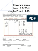 Amply 2A3 SE 3,5W
