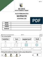 Ujian Penilaian MATEMATIK MAC 2011 Kelas Pemulihan Khas Upload