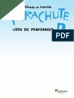 Parachute 2 Livre Du Professeurr