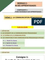 COMMUNICATION PEDAGOGIQUE