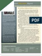 Ministry Newsletter 0211