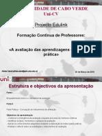 Uni-CV_Avaliação das aprendizagens - Da teoria à prática_20.03.2010