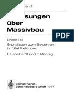 Vorlesungen Über Massivbau Dritter Teil Grundlagen Zum Bewehren Im Stahlbetonbau by Dr.-ing. Dr.-ing. E. h. Fritz Leonhardt, Dipl.-ing. Eduard Mönnig (Auth.) (Z-lib.org)