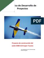 Formato Anexo No. 1. Prática de Elaboração de Projeto - Construção de Tucano - Aluno - Espanhol (1)
