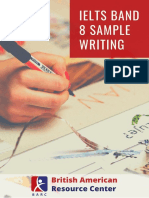 IELTS Band 8 Sample Writing