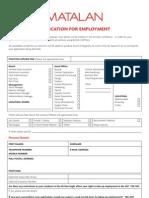 FINAL - Matalan App Forme Amended