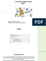 Plano de Formação Interna 2020 IEFP