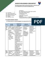 Plan de Trabajo Pedagógico Domiciliario IVAN
