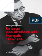 Lasagadesintellectuelsfranais(Tome1)-FranoisDosse