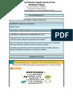 Guía de aprendizaje 1 Competencias Comunicativas grado 9 08 de febrero al 05 de marzo