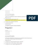 EVALUACIONES GESTION DE TESORERIA
