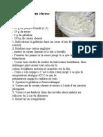 Crémeux cream cheese