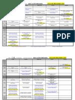 20210126- Horarios - Segundo Cuatrimestre - Grado de Primaria 20-21