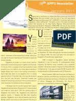 APPS 2011 - Newsletter #1