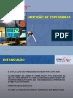 MEDICAO DE ESPESSURAS