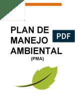 01-Plan De Manejo Ambiental (PMA)