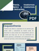 Esquizofrenia, Trastornos Esquizotípico y Trastornos de Ideas