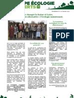Newsletter n°0 EELV71