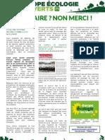 Newsletter n°2 EELV71