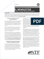 ATF Ruling on Scanned FFL Copies - FFL Newsletter 2007-01