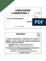 Lge.1 - 2020_2021 - Contabilidade Financeira i - 03. Balanço