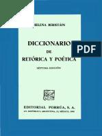 Diccionario de Retórica y Poética de