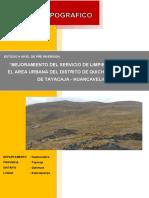 Informe Topografico PDF