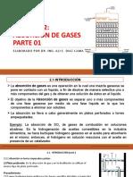 ABSORCIÓN DE GASES PARTE 01