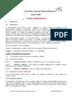 COURS  polymères KERROUZ 3 GM x (1)