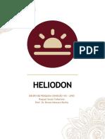 Manual de Instruções montagem de um Heliodon