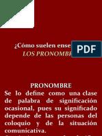 CLASE 3 PRONOMBRES