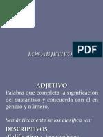 CLASE 4 ADJETIVOS