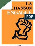 La Chanson Engagee-explication