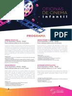 2018 Bibliotecas Sdr Oficinas Cinema Infantil Programa