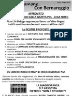 Parliamone Con Bernareggio Aprile/Maggio 2010