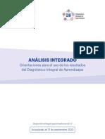 Analisis Integrado Orientaciones Para El Uso de Los Resultados Del DIA