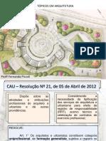 Atribuições Arquiteto e Urbanista 12_09_2020