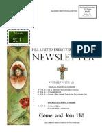 Hill Church Newsletter March 2011