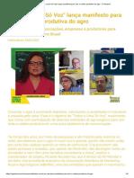 _Todos a Uma Só Voz_ Lança Manifesto Para Unir a Cadeia Produtiva Do Agro - O Girassol