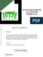 1. FUNDAMENTOS DE LA GESTIÓN AMBIENTAL