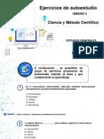 4- Unidad 04_Ejercicio de Reforzamiento_Ciencia y Método cientifico