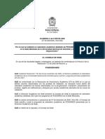 Calendario Académico Posgrado UNAL 2021