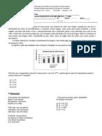 Avaliação Diagnóstica de Matemática do 7º ano-convertido