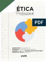Actividad 1 Mapa conceptual  Etica profesional